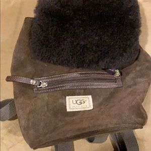 Small Ugg Suede backpack